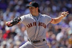 4/9/2012. Zito pitches the SF Giants to a 7-0, 4-hit shutout victory against the Rockies. (Photo by Doug Pensinger/Getty Images)