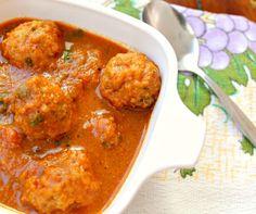 Chicken Kofta, Indian style.