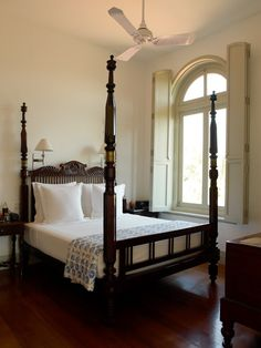 Beautiful bedrooms at Amangalla in Galle, Sri Lanka Furniture, Beautiful Bedrooms, Indian Home Decor, Colonial Furniture, Home, Colonial House Interior, Colonial House, British Colonial Decor, Colonial Style