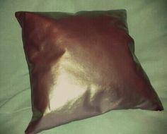 Cuscino metallizzato