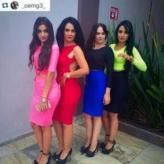 Las 4 usando outfits de Pink Flamingo México.  <3 Consíguelo en una de nuestras 3 sucursales en GDL, nuestras redes sociales o whatsapp al 044 3316044531.