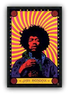 Jimi Hendrix - www.laminaposter.com