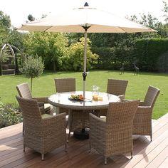 maze rattan natural milan corner sofa set green cushions air mattress for rv 11 best garden furniture images 6 seat highback round