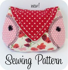 SEWING PATTERN ONLY. Finished products, fabric & other supplies are not included. Your pattern is emailed to you within 24-hours of your purchase. Happy stitching! - - - - - - - - - - - - - - - - - - - - - - - - - - - - - - - - - - - - - - - - - -    Bust out your scraps and sew up this owl coin purse using this simple SEWING PATTERN. This is a very fun and fast project that is great for using up scraps of fabric and interfacing. When you are done you will have a sweet place to stash your…