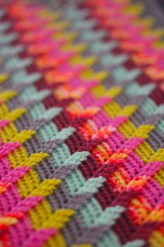 Beautiful crochet pattern and colors!