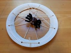 ......mamamisas welt......: Spinnen basteln aus Wolle (halloween basteln)