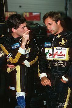 Ayrton Senna: Todos os companheiros de equipe de Ayrton Senna na F1