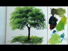 Como Pintar : Arvore / 1 - YouTube                                                                                                                                                     Mais
