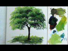 Como Pintar :  Arvore / 1