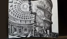 Rome Student Sketch
