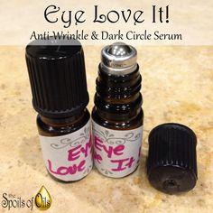 Eye-Love-It Anti-Wrinkle & Dark Circle Serum 6 simple ingredients working together to combat the signs of aging.