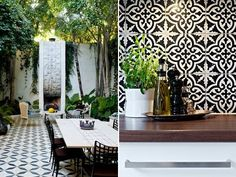 Wonderful outdoor space with natural and manmade_ organic and geometric, colours, textures and patterns.