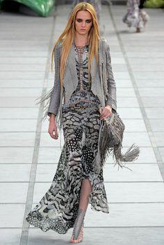 Roberto Cavalli Spring 2011 Ready-to-Wear Fashion Show - Daria Strokous
