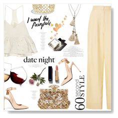 """""""I Want The Fairytale..."""" by desert-belle ❤ liked on Polyvore featuring Tom Ford, TIBI, Vanessa Mooney, Dolce&Gabbana, David Yurman, Chanel, Crate and Barrel, Rosie Assoulin, Garance Doré and women's clothing"""