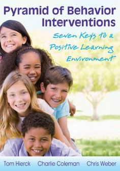 """Read """"Pyramid of Behavior Interventions Seven Keys to a Positive Learning Environment"""" by Tom Hierck available from Rakuten Kobo. Students thrive when educators commit to proactively meeting their behavioral as well as academic needs. This book will . Behavior Management, Classroom Management, Class Management, Positive Behavior Support, Professional Learning Communities, Response To Intervention, Behavior Interventions, Student Behavior, Bullying Prevention"""
