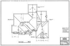 6306075_orig.gif 820×548 pixels Roof Detail, Roof Plan, House Floor Plans, Stairs, Construction, Exterior, House Design, Lettering, How To Plan