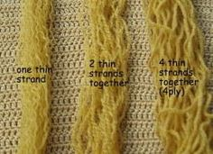 How to make beautiful hair. Part 1. ~ Amigurumi crochet patterns ~ K and J Dolls / K and J Publishing 1 of 2