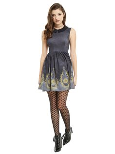 peter pan big ben border dress hottopic