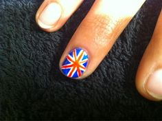 Union Jack nails for the Olympics