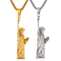 Which you like of Statue Of Liberty Pendant ?  Get your at 50% OFF!  ✅FREE SHIPPING worldwide  ✅Money back