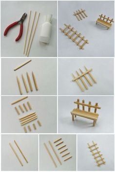 Crafts Sticks 25 DIY Fairy Door Ideas from Popsicle or Wooden Craft Sticks & Rocks - MommyGrid. Wooden Craft Sticks, Wooden Crafts, Craft Stick Crafts, Popsicle Crafts, Craft Ideas, Diy Crafts, Diy Fairy Door, Fairy Doors, Diy Door