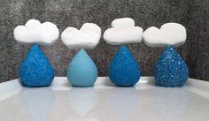 12 Adorable April Shower Desserts *Perfect* for Rainy Day Baking via Brit + Co