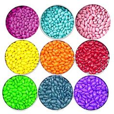 Buy candy by color.. prices not too bad, just depends on what you get.