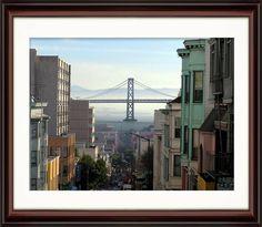 Amazon.com - Bay Bridge of San Francisco - Original Print 16x20 -