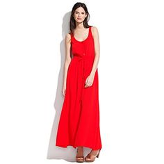 maxi dress no. 2- probably hard to hem due to buttons but really cute