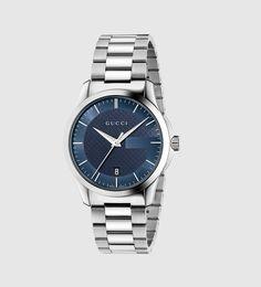 g-timeless medium stainless steel watch