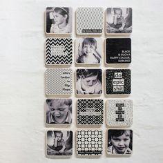 Furniture, Wall tiles, Prints on wood, Prints on Plexiglass. Photo B, Photo Wall, Wooden Wall Tiles, Print Instagram Photos, Diy Design, Custom Design, Photo Tiles, Pine Plywood, Wall Cladding