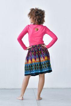 Spódnica Bombka Bomeo    www.kokoworld.pl #kokoworld #handmade #skirt #batik #ethno #fashion