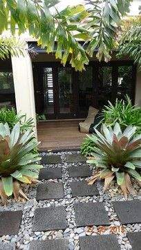 Balinese - Asian - Patio - Brisbane - The Outdoor Room Queensland #ideas #nature #outdoorliving #outdoor  #yard realpalmtrees.com  #yardideas #coolideas  #DIYHome #DIYLandscape #home #realpalmtrees #cozy #plants  #homeswithplants #PlantIdeas realpalmtrees.com