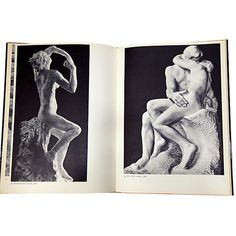 Sculpture of Rodin, Pair Vintage Style One Kings Lane ($49) ❤ liked on Polyvore featuring home, home decor and fillers