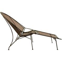 Salterini Lounge Chair and Ottoman