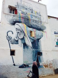 Graffiti art in casablanca