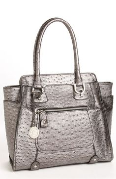 love London Fog Ostrich Embossed Tote available at  Nordstrom Purses And  Handbags 0f6ab6b18cc89