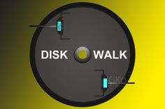 DiskWalk - vista superior