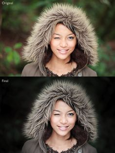 Portrait processing in Lightroom step[ by step