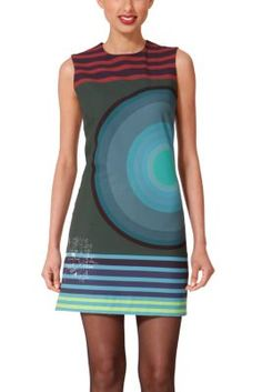 Desigual women's very colourful Nuri dress. We don't know what it is about our colourful concentric circles that drive women wild...