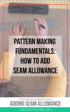 Pattern making Fundamentals | Pattern Drafting
