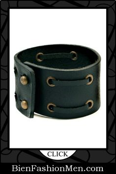 DragonWeave Jewelry Leather Cuff Bracelets Nice and Pretty +dreadstop Mens Leather Cuff Bracelets, Leather Cuffs, Leather Jewelry, Bracelets For Men, Leather Men, Black Leather, Men's Jewelry, Jewlery, Black Laces