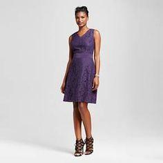 Women's Lace A-line Dress - Merona™ : Target