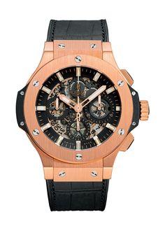 Aero Bang Gold 44mm Chronograph watch from Hublot