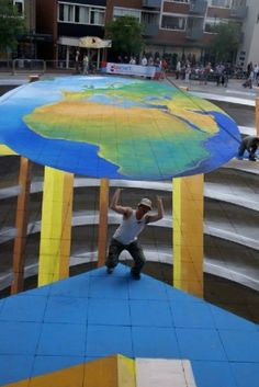 20 Cool 3D Street Art Painting illusions - (Set- 3)