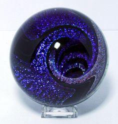 Joe Winterbower - Handmade Contemporary Art Glass Marble 38