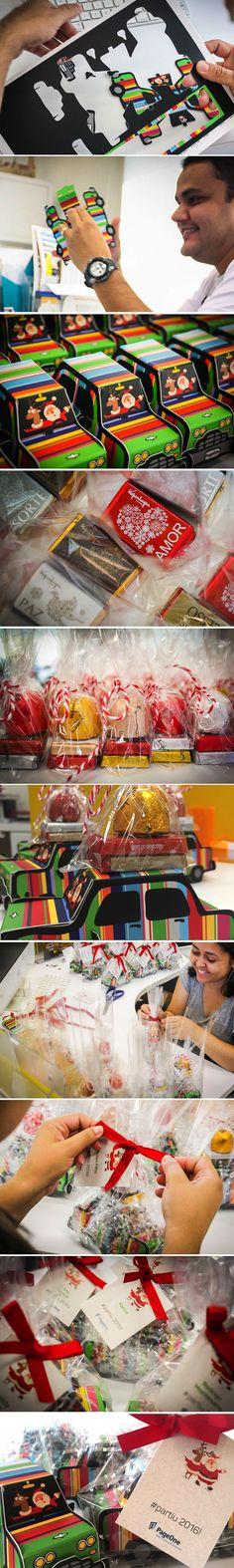 Brinde de Natal da PageOne em 2015! #gift #natal #christmas #love #color #merrychristmas #xmas #decor #graficdesign #packaging