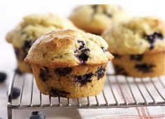 Gluten Free Blueberry Muffins recipe. People with wheat-allergies no longer have to forego delicious treats like blueberry muffins. With many gluten-free flours on the market it's easy to make them from scratch. Xanthan gum is an important ingredient in gluten-free baking as it helps provide structure.  - Foodista.com