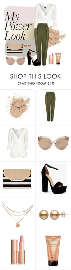 """Untitled #175"" by preciosohermosa ❤ liked on Polyvore featuring Topshop, Club L, Linda Farrow, Stella & Dot, Boohoo and Christian Dior"