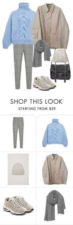 """Untitled #2083"" by mmooa ❤ liked on Polyvore featuring Alexander Wang, I Love Mr. Mittens, Lemaire, NIKE, American Vintage and Proenza Schouler"
